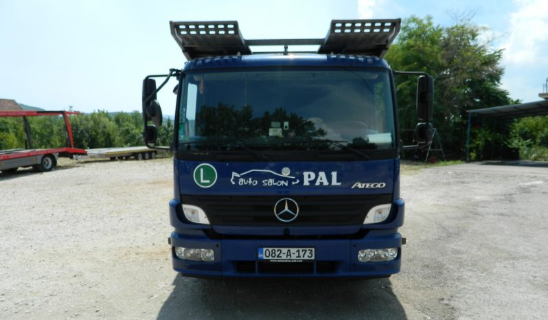 Mercedes Benz Atego 13 29 Autotransporter full
